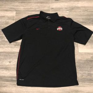 Nike Dry-Fit Ohio State Short sleeve Collar shirt